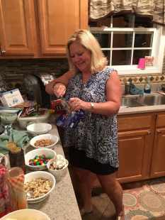 Susan and the Sundae Bar!