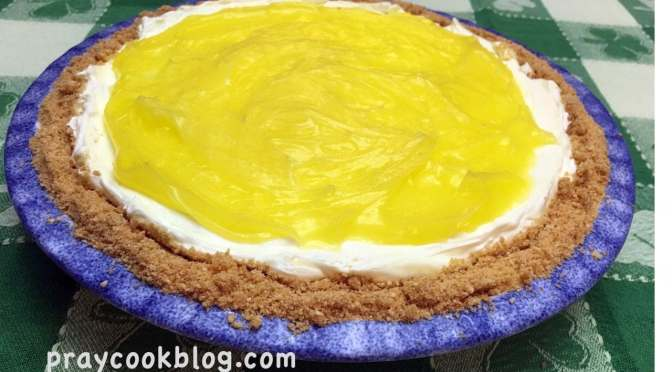 No Bake Layered Lemon Pie