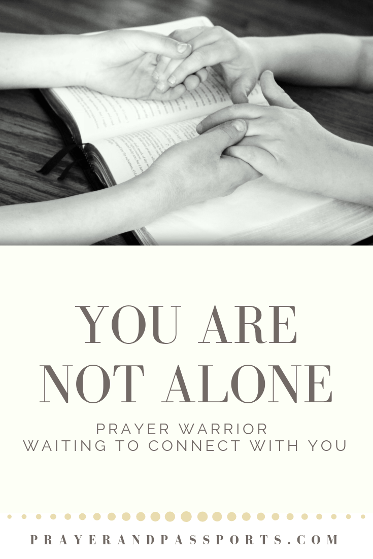 Prayer requests because you are not alone
