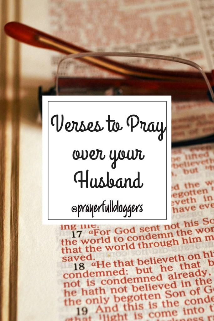 verses to pray over