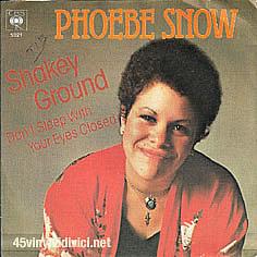 Phoebe Snow's Shakey Ground