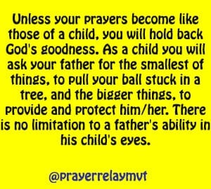 limitations in prayer