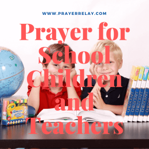 Prayer for School