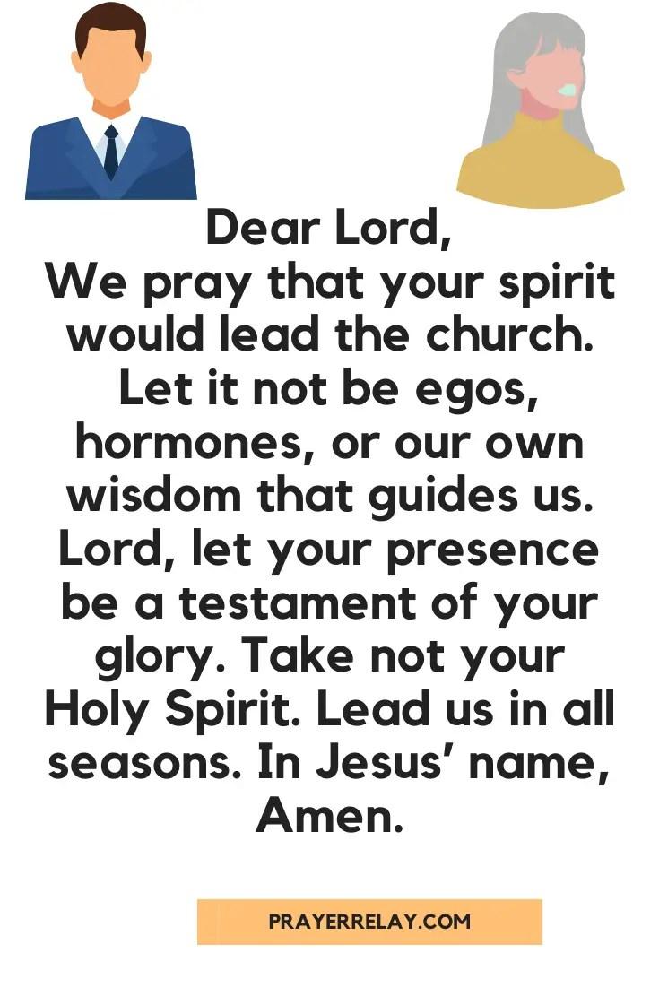 Prayer for Church Growth 3