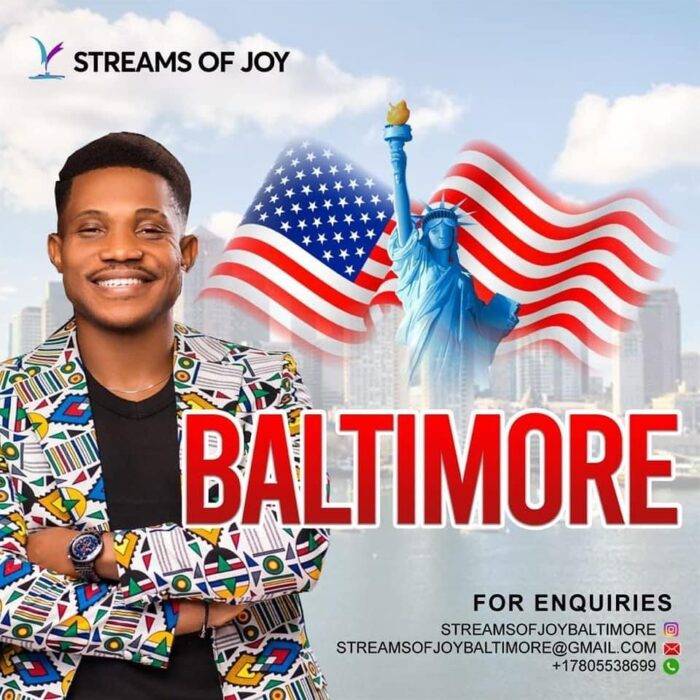 Streams Of Joy International Baltimore