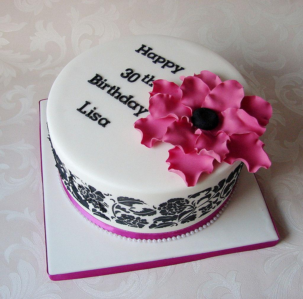 30th Birthday Cakes Ideas For Women Birthday Cake