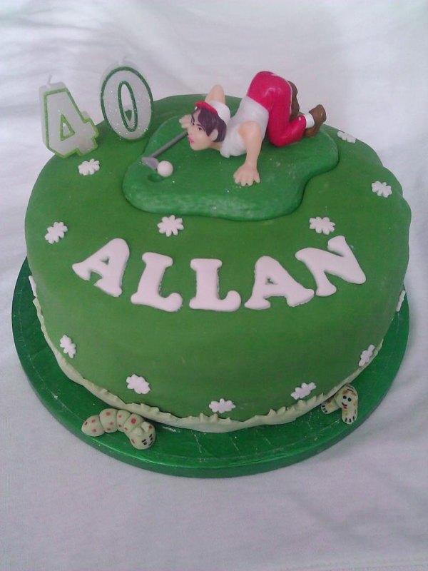 Awe Inspiring Cake Ideas 40Th Birthday Man The Cake Boutique Personalised Birthday Cards Fashionlily Jamesorg