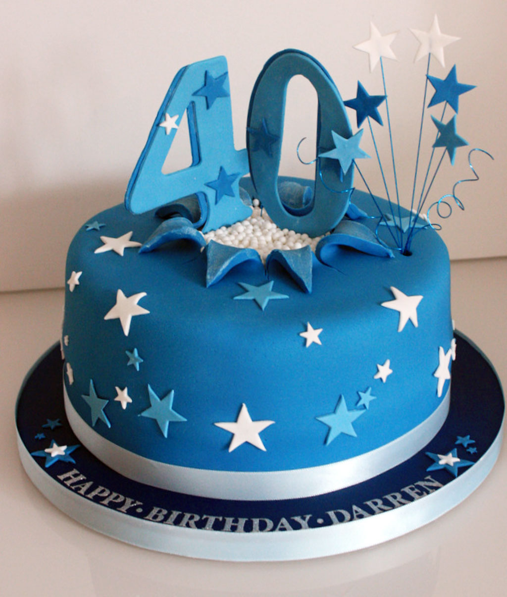 40th Birthday Cake Composite Replacement Windows Magazine Printing