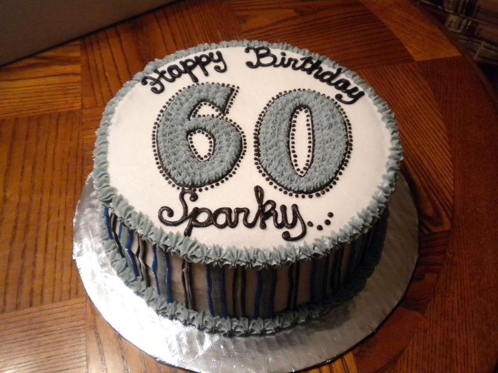 60th Birthday Cake Ideas For Men