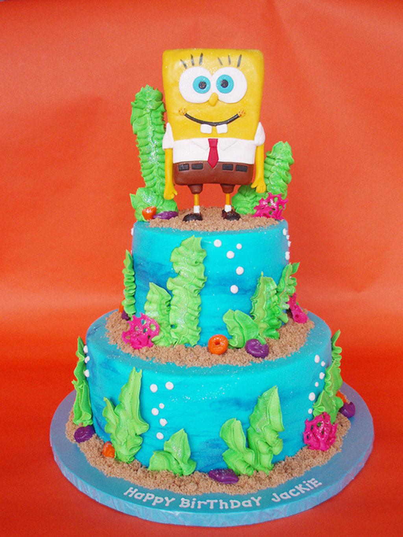 Spongebob Birthday Cake Ideas Birthday Cake