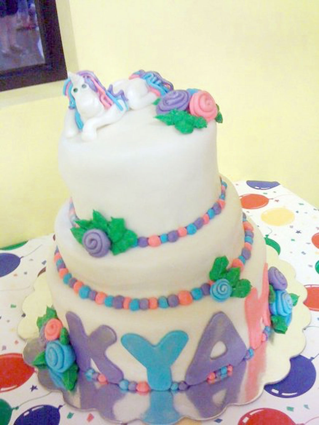 Unicorn Birthday Cake Decorating Birthday Cake