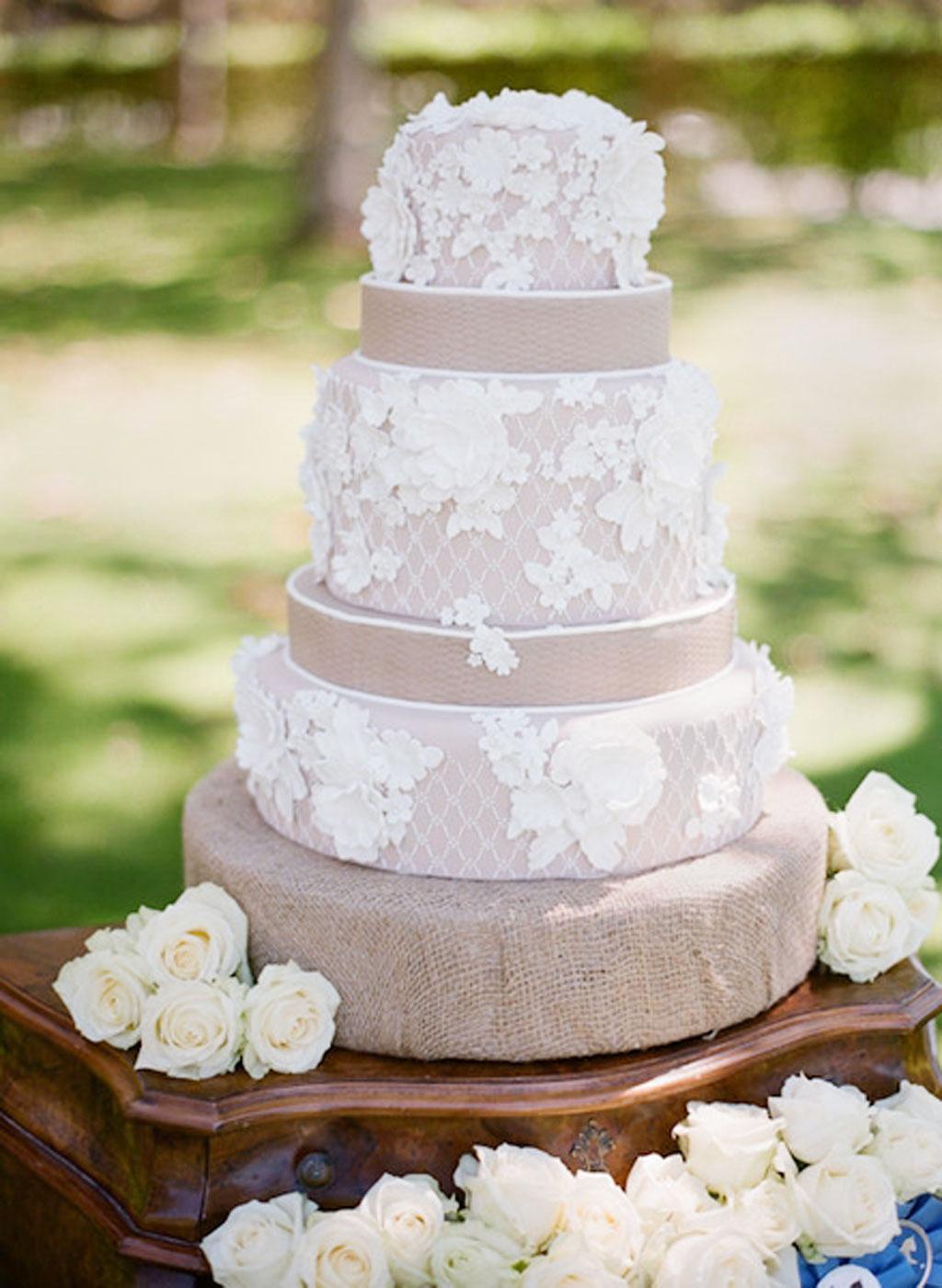 Types Cakes Weddings