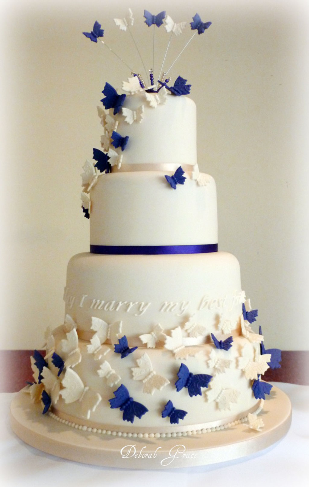 Butterfly Wedding Cakes Decoration Wedding Cake