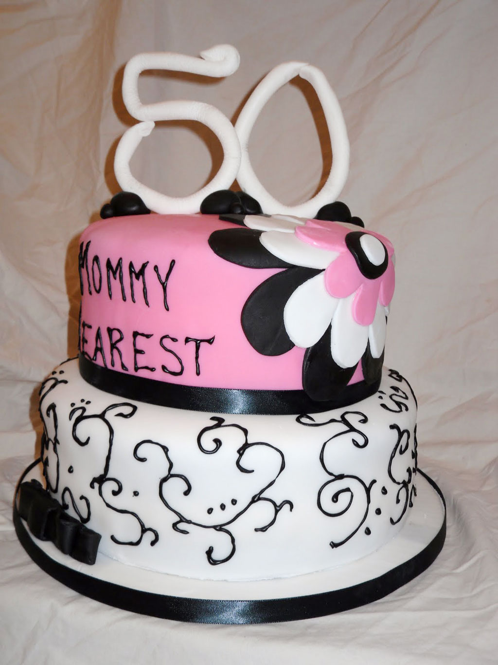 Free Cake Ideas For 50th Birthday