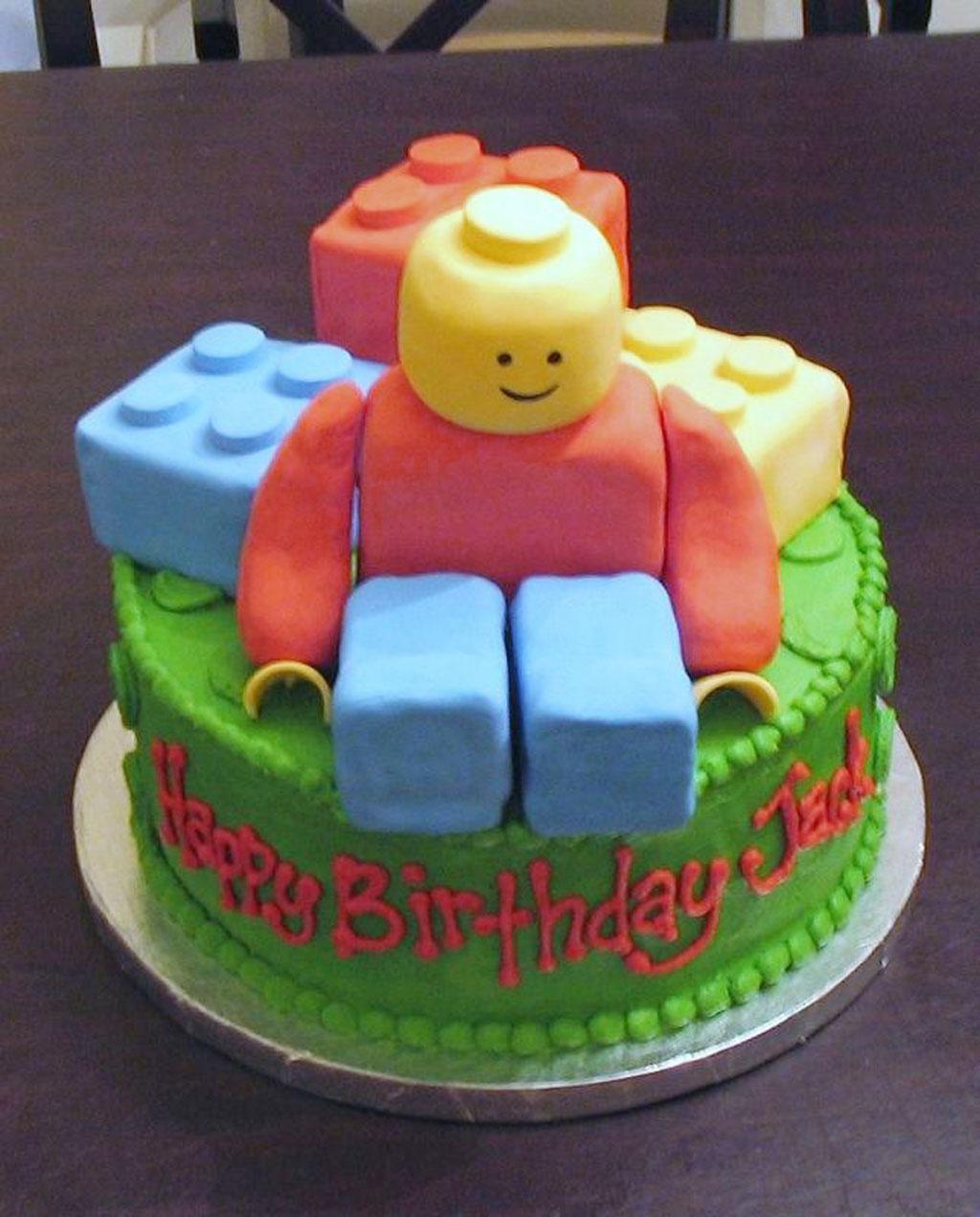 Lego Kids Birthday Cakes Ideas Birthday Cake