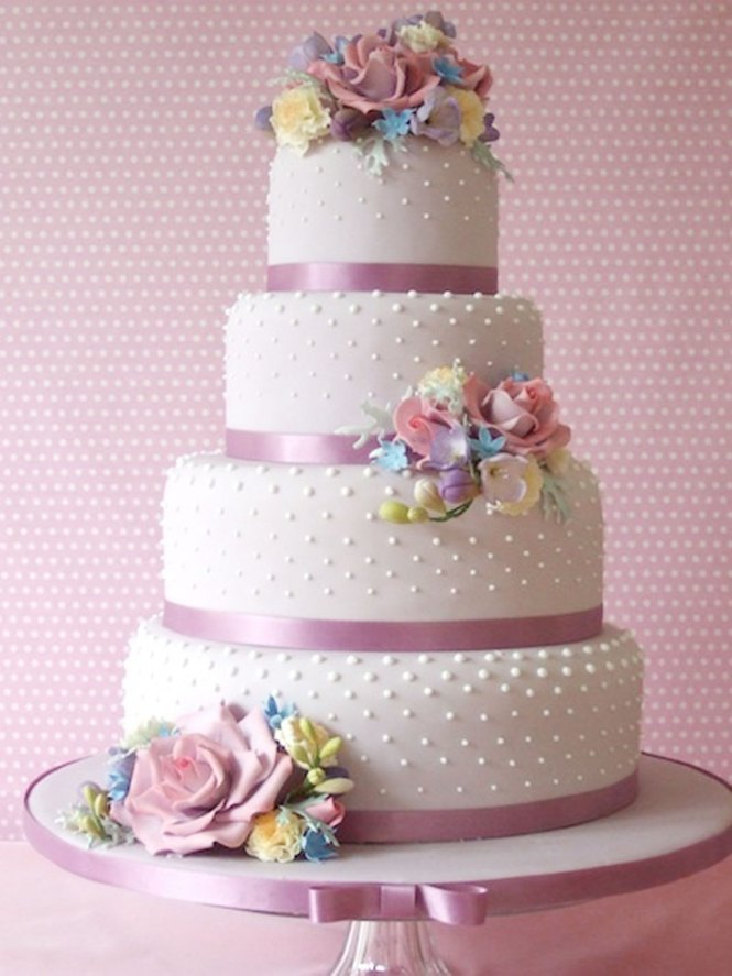 1000 Images About Wedding Cakes On Pinterest Spring And White
