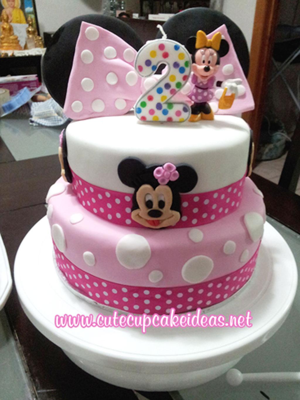 Minnie Mouse Birthday Cupcake Ideas Birthday Cake