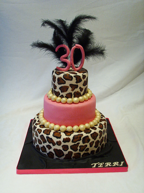 Novelty 30th Birthday Cakes For Women Birthday Cake