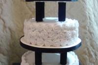 Wedding Cake Pillars And Plates Wedding Cake - Cake Ideas ...