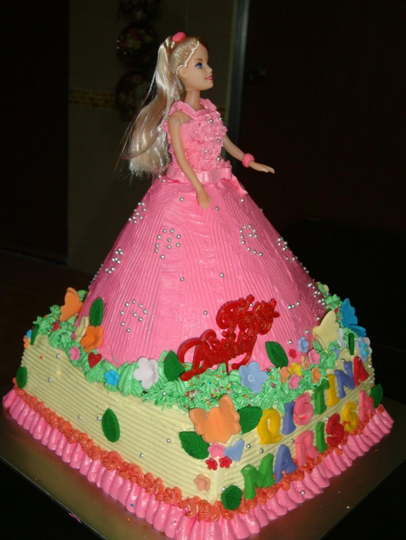 Barbie Cake Doll Cake Decor