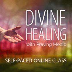 teach teacher divine healing class praying medic