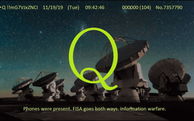 Qanon November 20 – Information Warfare
