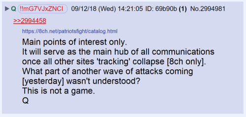 qanon main points of interest only
