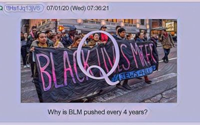 Qanon  July 2, 2020 – Why is BLM Pushed Every 4 years?