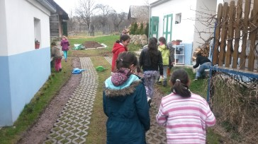 Just before Easter, the girls' group had an Easter Egg Hunt, joined by some more of our MK friends.