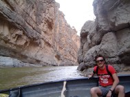 FLOWING DOWN THE RIVER AT BIG BEND