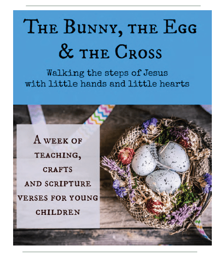 The bunny the egg the cross by nadine ebook review and coupon inspired by truth in the tinsel but unable to find a comparable product for celebrating easter nadine created the bunny the egg the cross fandeluxe Choice Image