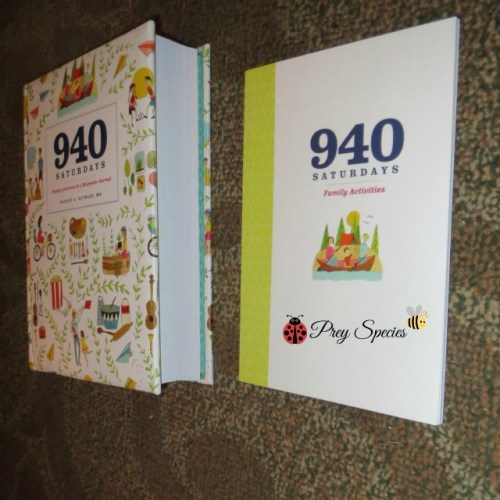 940 saturdays and activity book