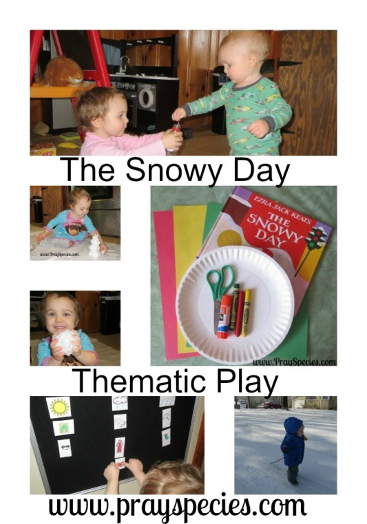 The Snowy Day Thematic Play