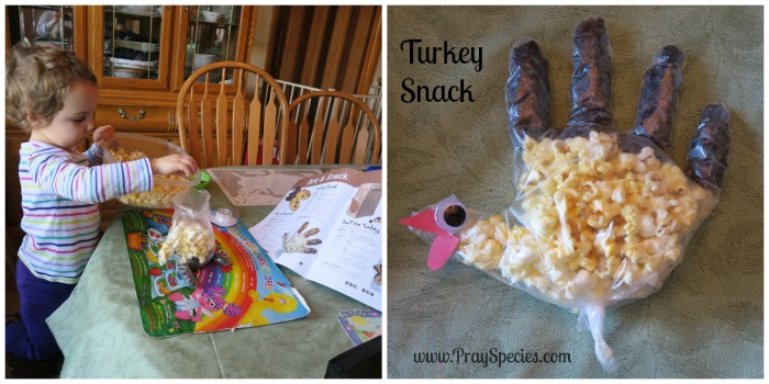 turkey snack Collage