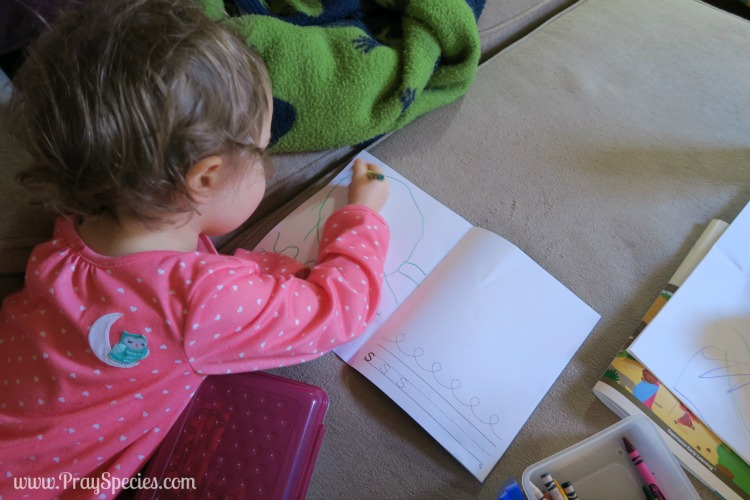 journaling with mother goose time