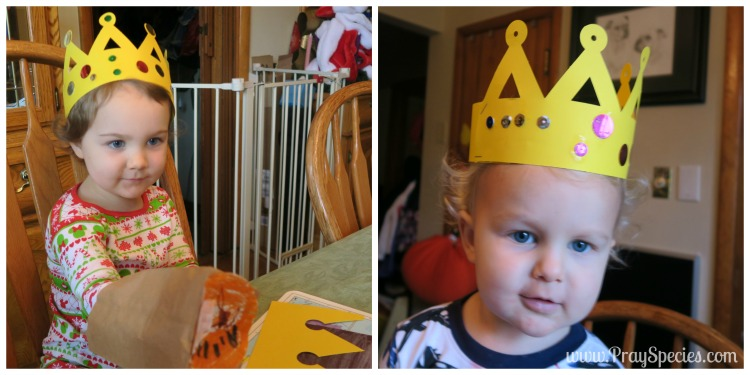 Crown Craft Daniel in the Lions Den Collage