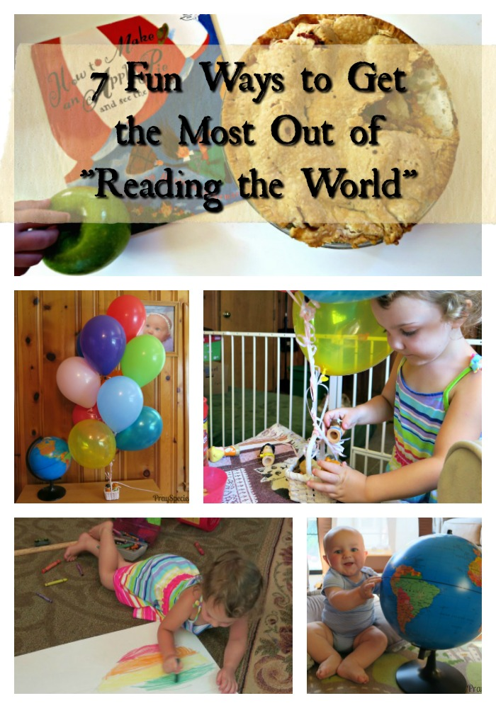 7 Fun Ways to Get the Most Out of Reading the World Collage