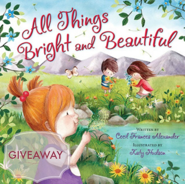 all things bright and beautiful giveaway