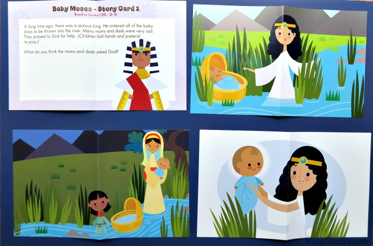 Baby Moses Story Cards