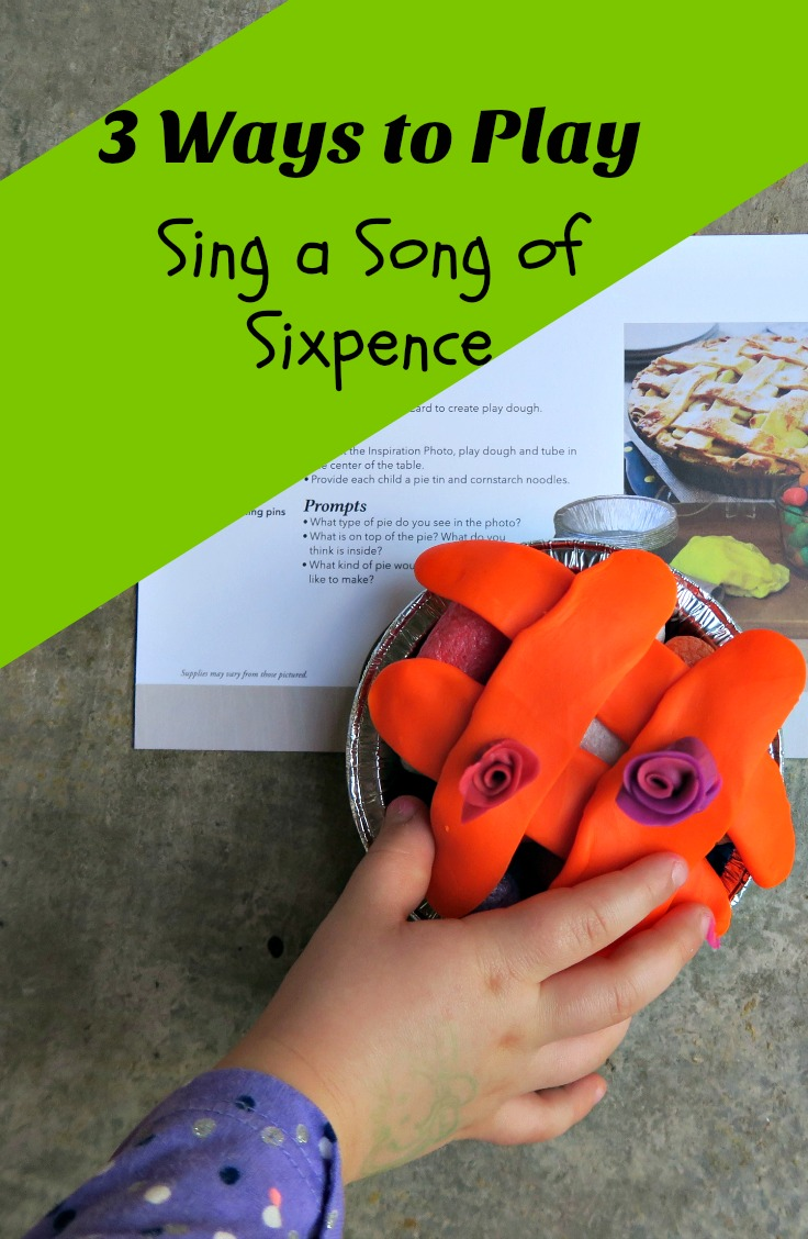 Sing a Song of Sixpence Activities for Preschooler