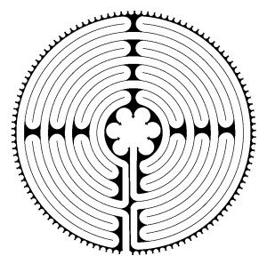 Chartres Labyrinth Design