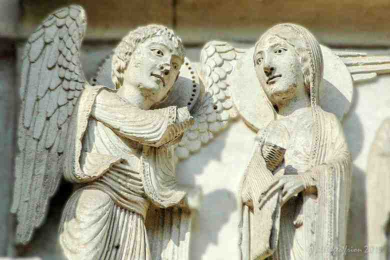 The Annunciation, West (12th century)