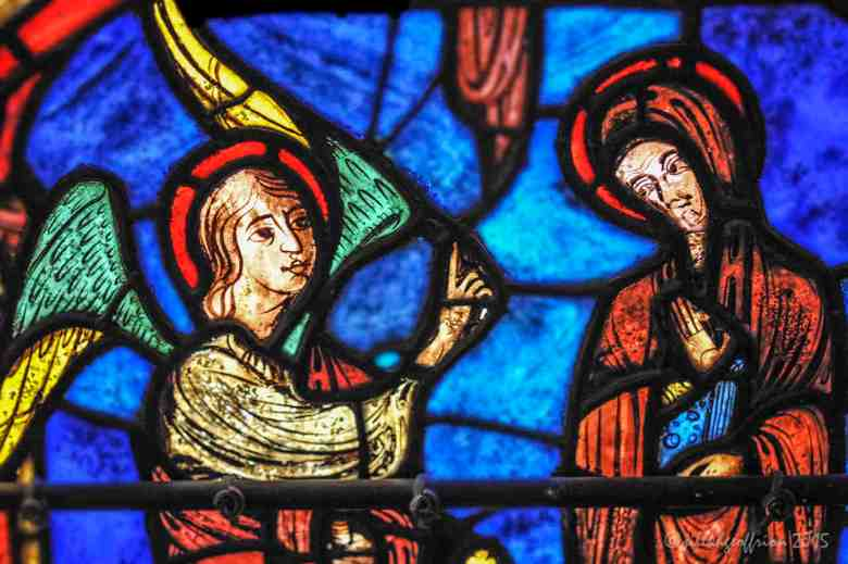 The Annunciation in the Life of Mary Window