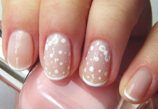 Оформление ногтей девочки