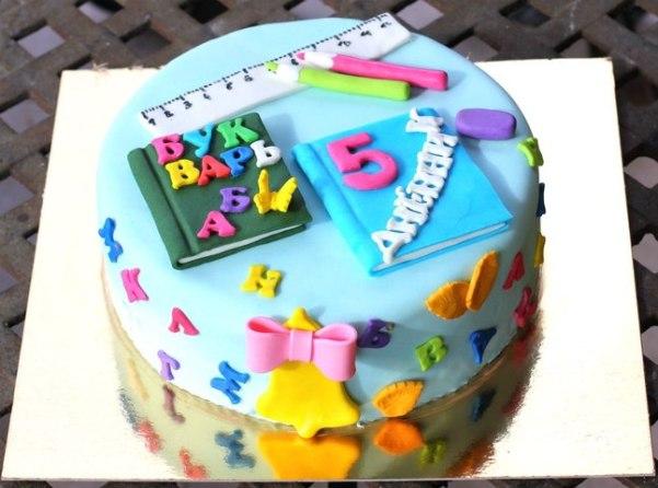 Торт для школьника