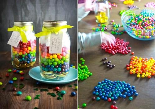 Баночки со сладостями