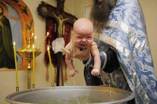 Суть таинства Крещения