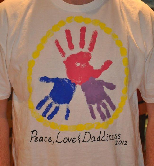 футболка для папы