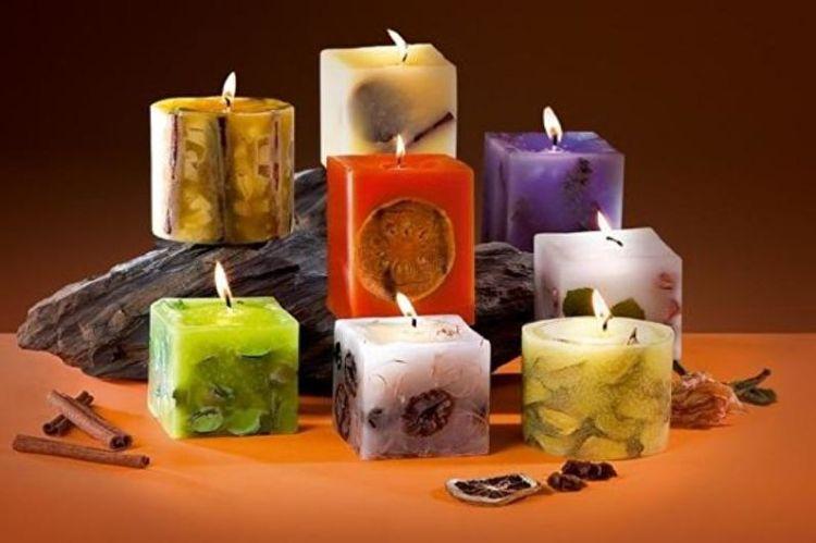 набор ароматических свечей