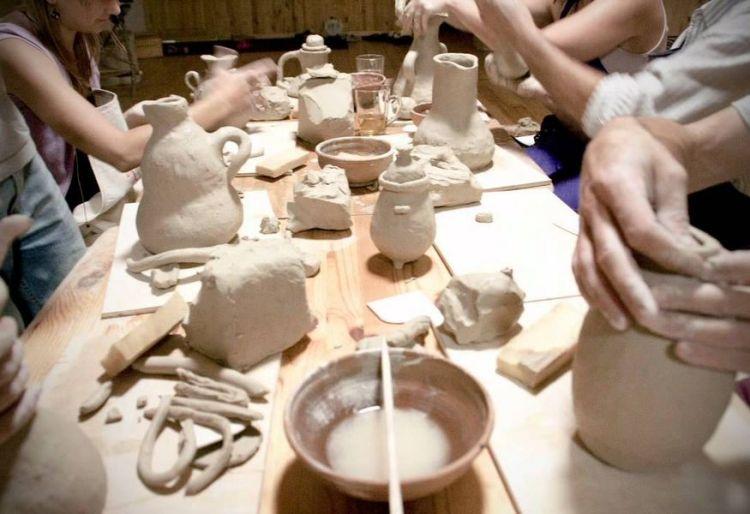 мастер-класс по работе с керамикой